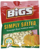 Bigs Simply Salted Pumpkin Seeds Home - style Roast , 5 Ounce - 12 per case