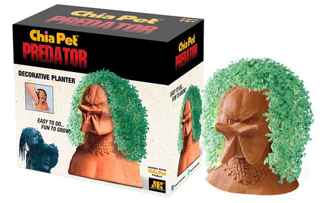 Chia Pet Predator Decorative Pottery Planter