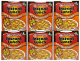 Maruchan Instant Lunch Hot and Spicy Chicken Flavor Soup - 2.25 oz - 6 Pack