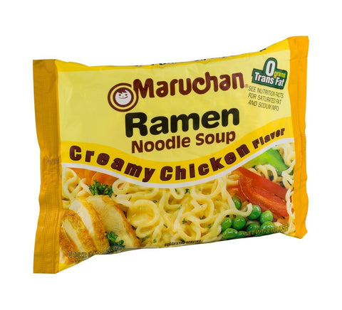 Maruchan Creamy Chicken Flavor Ramen Noodles (Pack of 24)
