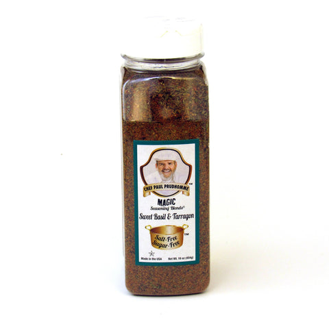 Chef Paul Prudhommes Sweet Basil and Tarragon 16 oz