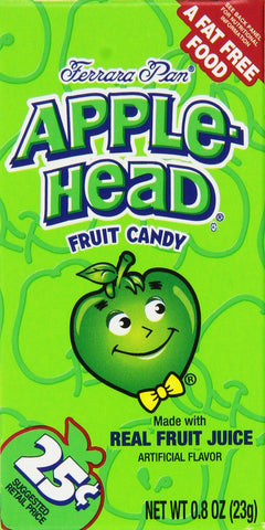 Applehead Candy 24 Packs ( 19.2 OZ total)