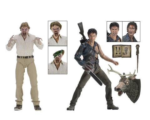 NECA Evil Dead 2 (30th Anniversary)Boxed Set 7 Scale Action Figures