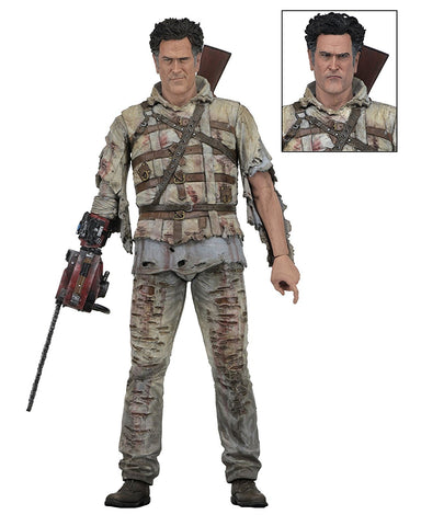 "NECA - Ash Vs Evil Dead - 7"" Action Figure - Series 2 Asylum Ash"