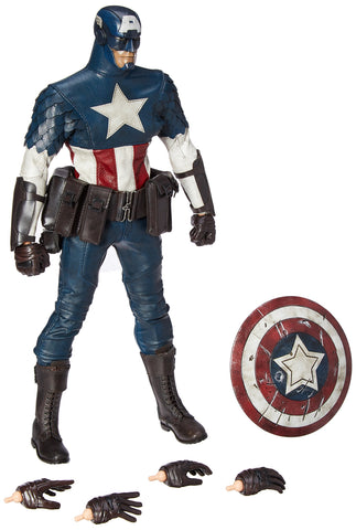 Three A Marvel X 3A: Captain America 1:6 Scale Action Figure