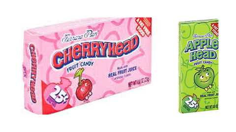 Lemonhead Candy Variety Bundle, 1.08 oz mini box (Pack of 12)