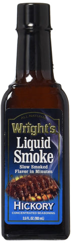 Wright's Liquid Smoke Hickory 3.5 Fl.oz (Pack of 2)