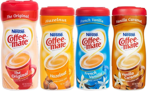 Coffee Mate Powdered Creamer - Variety 4 Pack