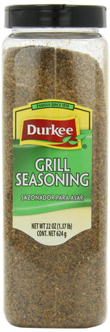 Durkee Grill Seasoning, 22-Ounce Container