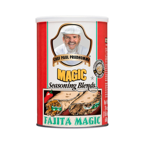 Chef Paul Prudhomme's Magic Seasoning Blends ~ Fajita Magic, 24-Ounce Canister