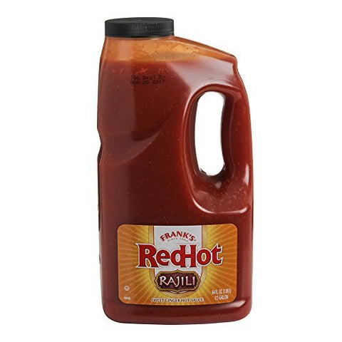 Frank's Redhot, Rijili Sweet Asian Ginger Sauce Half Gallon (1)