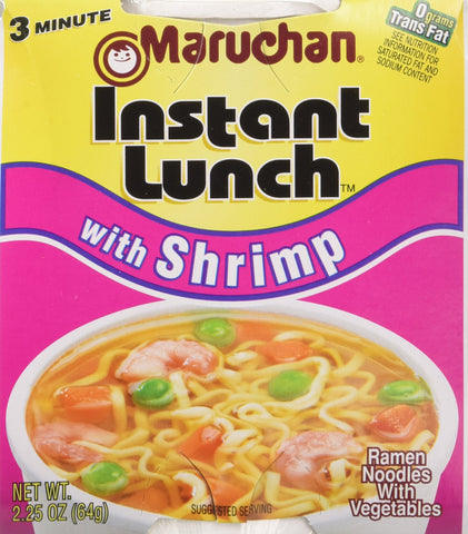 Maruchan Instant Lunch with Shrimp - 24/2.25 oz.