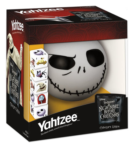 YAHTZEE Tim Burton's The Nightmare Before Christmas Collector's Edition