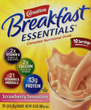 Carnation Instant Breakfast Powder, Strawberry, 10 pk