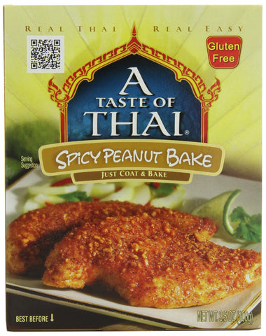 A Taste of Thai Spicy Thai Peanut Bake, 3.5-Ounce Packets (Pack of 12)