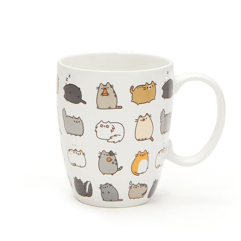 Pusheen by Our Name is Mud Pusheen Kitties Stoneware Coffee Mug and Coaster