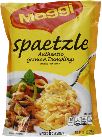 Maggi Spaetzle, Authentic German Dumplings (10.5 ounce)