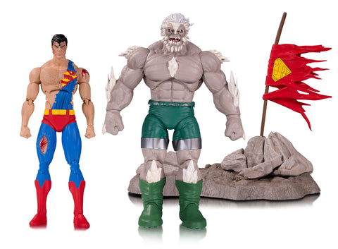 DC Collectibles The Death of Superman Doomsday & Superman Deluxe Action Figure