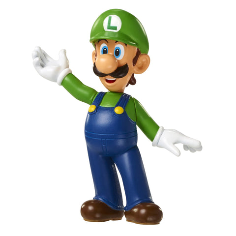 "World of Nintendo Super Mario Series 3 Luigi 2.5"" Mini Figure"