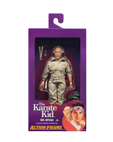 "NECA The Karate Kid - Mr. Miyagi - 8"" Clothed Action Figures"