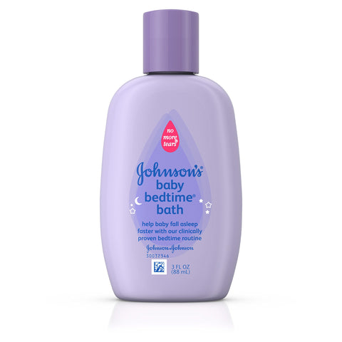 Johnson's Bedtime Baby Bath, 3.0 Fl. Oz