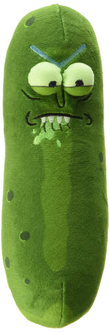 "Funko Galactic Plushies: Rick and Morty - 7"" Pickle Rick (Biting Lip)"