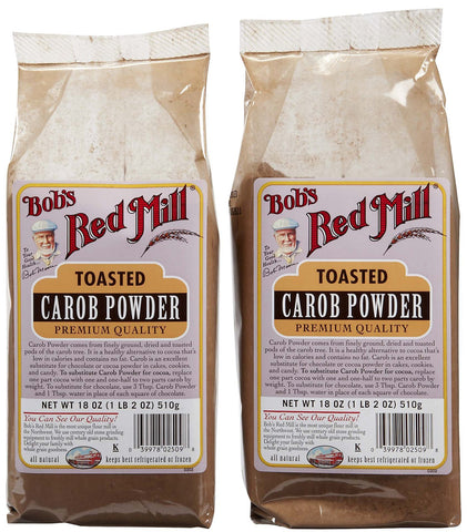 Bob's Red Mill Carob Powder Toasted - 18 oz - 2 pk