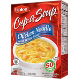 Lipton Cup-a-Soup Chicken Noodle Flavor 1.8 Oz (Pack of 4)