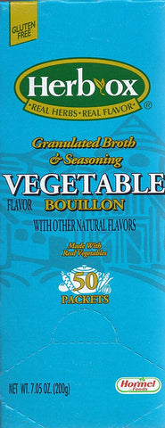 Hormel Herb Ox Vegetable Bouillon 50 Packets
