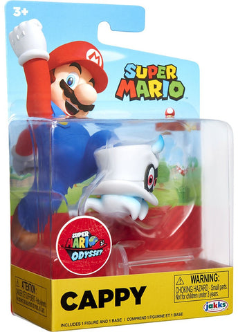 World of Nintendo Super Mario Wave 19 Cappy 2.5-Inch Mini Figure CAPPY