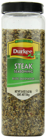 Durkee Steak Seasoning, 26-Ounce Containers (Pack of 2)