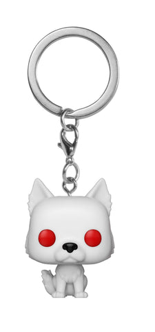 Funko Pop Keychain: Game Of Thrones - Ghost Collectible Figure