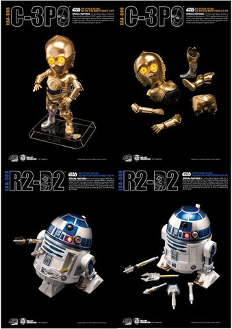 Star Wars: Episode V - The Empire Strikes Back R2-D2 and C-3PO Egg Attack
