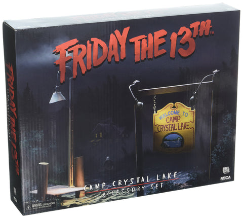 NECA - Friday the 13th - Camp Crystal Lake Accessory Set