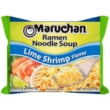 Maruchan Ramen, Lime Shrimp, 3-Ounce Packages (Pack of 24)