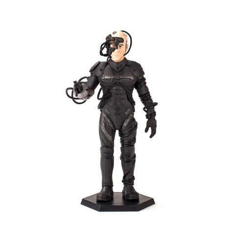 QMX Star Trek TNG Locutus of Borg Mini Master Latinum Edition Figure