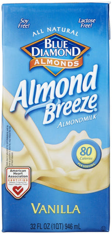 Blue Diamond Almond Breeze - Vanilla - 32 oz