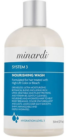 Beth Minardi System 3 Nourishing Hair Wash, 12 Ounce