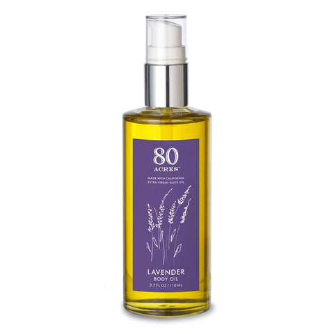 80 Acres Lavender Body Oil - 3.7 oz