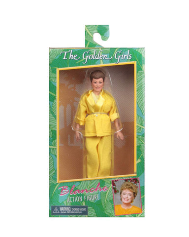 "NECA Golden Girls -Blanche - 8"" Clothed Action Figure"
