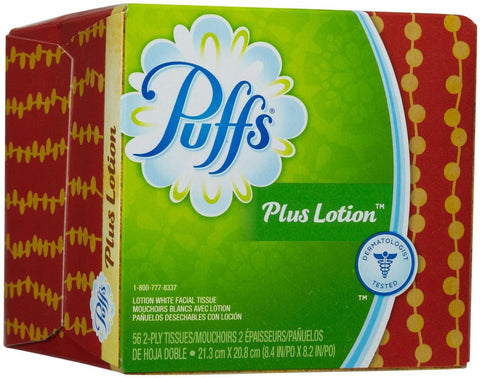Puffs Plus Lotion Facial Tissues-56 ct