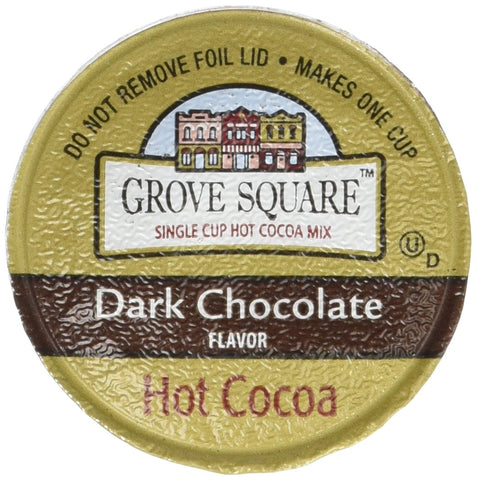 GROVE SQUARE DARK CHOCOLATE HOT COCOA 96 K CUPS
