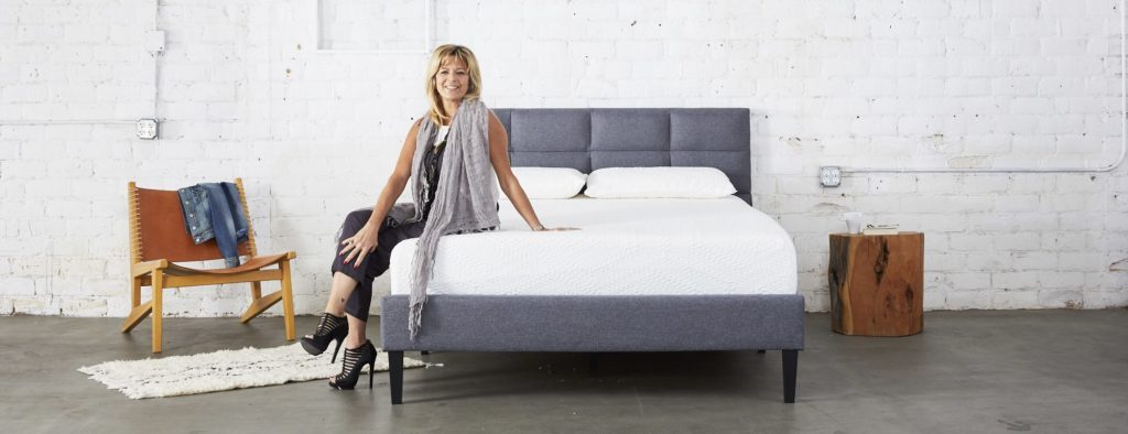 Karen Roma and the Coddle Dual Core Mattress