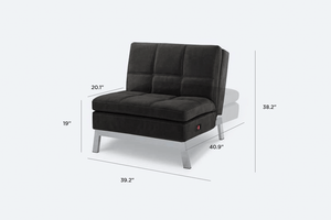 toggle reclining chair