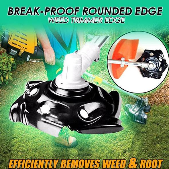 Break-proof Rounded Edge Weed Trimmer Edge (50% Off Today Only!)
