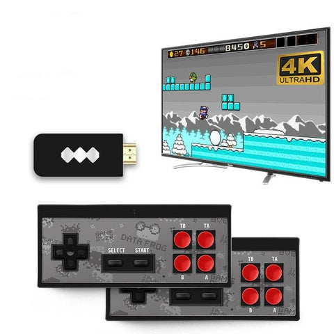 USB Wireless Handheld TV Video Game Console Build In 600 Classic Game 8 Bit Mini Video Console Support AV/HDMI Output