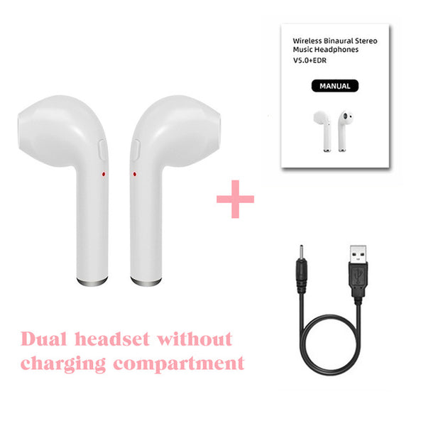 Wireless Earpiece Bluetooth 5.0 sport Earbuds Headset With Mic For smart Phone
