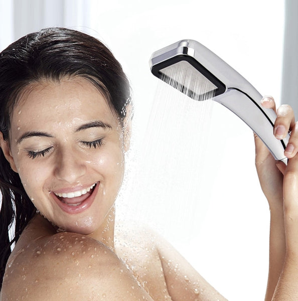 High Quality High Pressure Water Saving Shower Head 300 Holes Filter Spray Nozzle