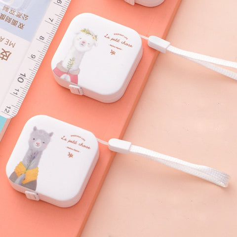 150cm cute Portable Retractable Ruler