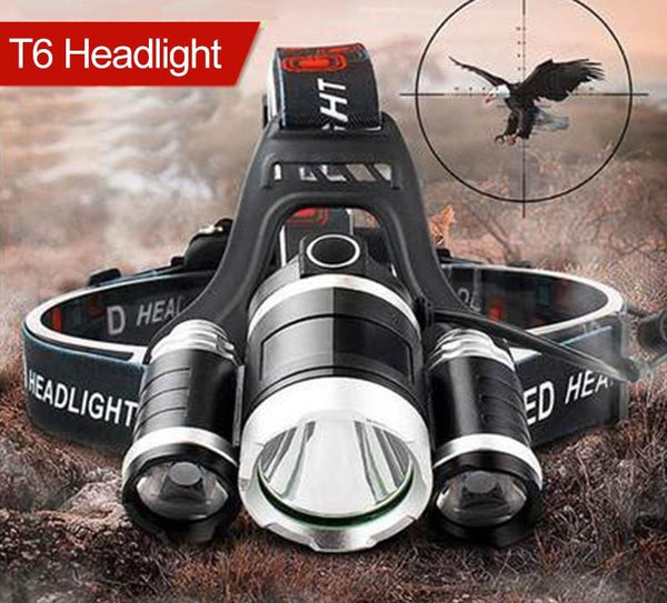 LED Headlamp 13000 LUMEN,XM-L T6